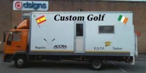 Custom Golf lorry