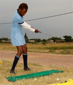 A young township talent