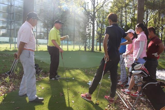 Bill Abbott instructing on the Range
